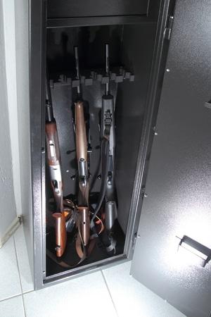 Armoire forte pour arme